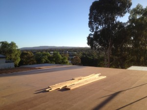 Insulated timber floor construction